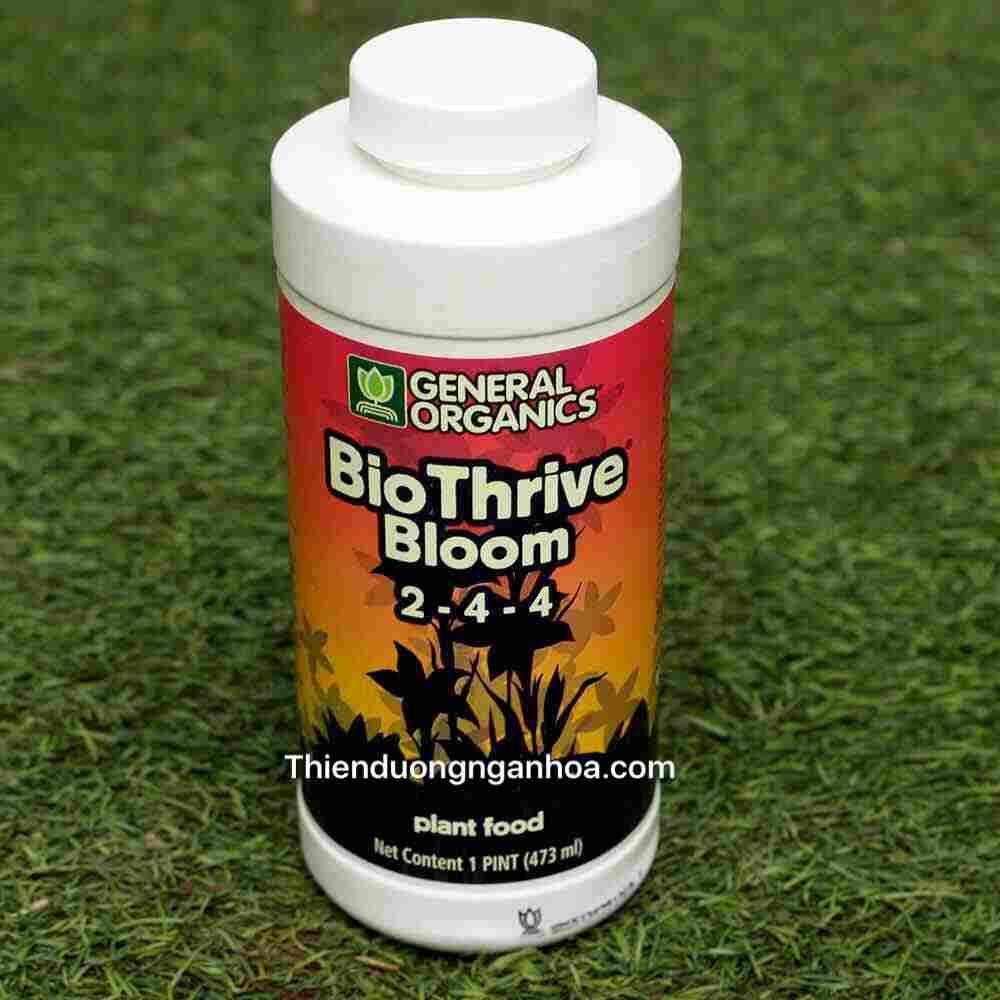 Bio Thrive Bloom 2-4-4, Bán General Organics Bio Thrive Bloom 2-4-4