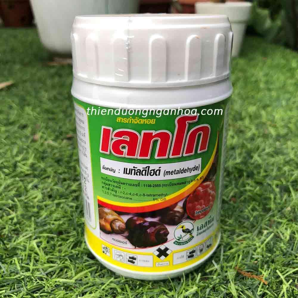 Bán bả ốc thái lan letco 100g hàng chính hãng diệt ốc to nhỏ ăn mầm ki hoa lan