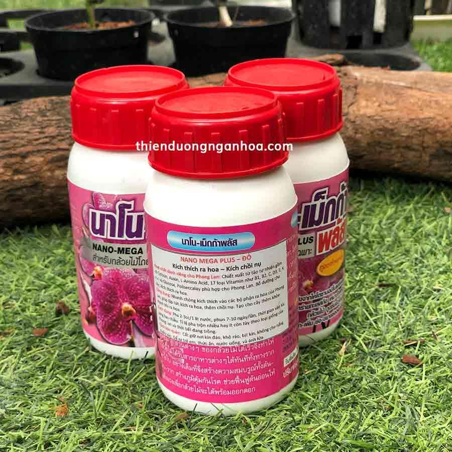 Nano mega plush đỏ thái lan kích hoa, chồi nụ cho phong lan chiết xuất thiên nhiên không hại cây