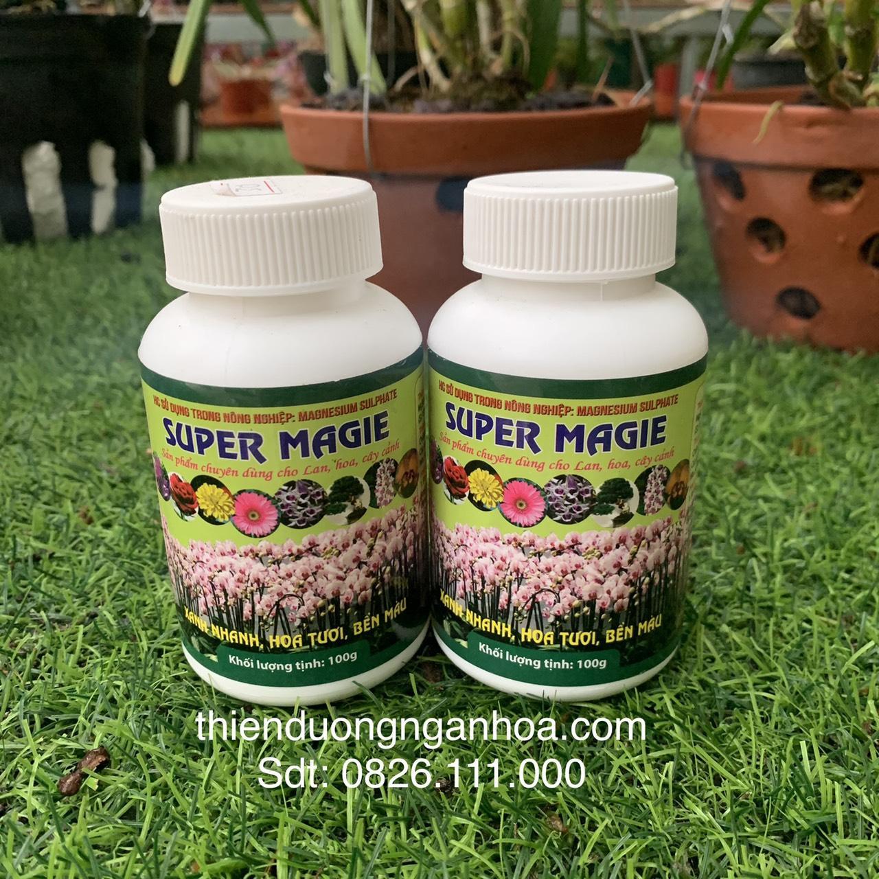Bán phân bón Super Magie xanh lá cho lan và các loại cây tại Hà Nội
