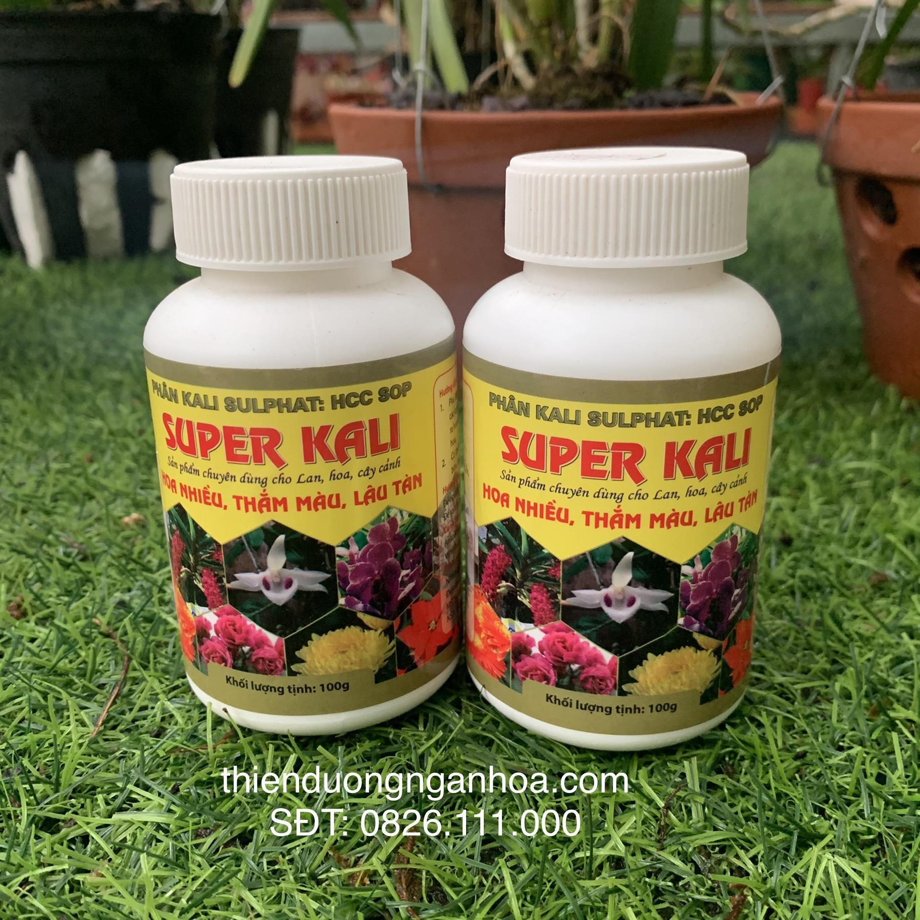 Bán phân bón super Kali
