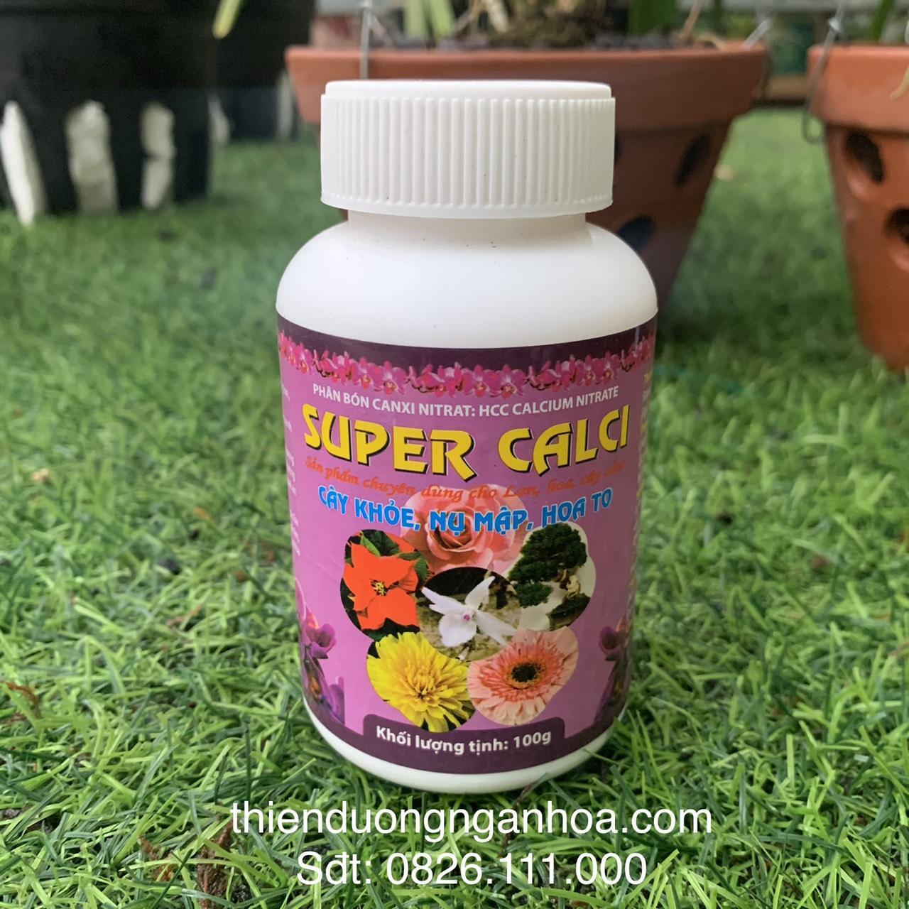 Bán phân bón super calci cho hoa lan giúp thân cứng cáp bán tại hà nội